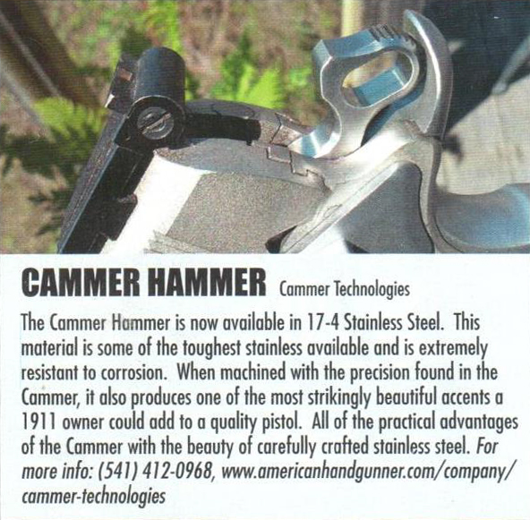 Stainless Spotlight in American Handgunner